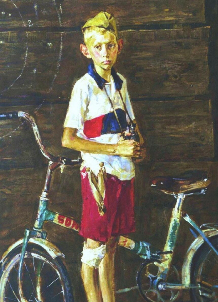 andrei-drozdov-a-boy-with-a-bicycle-2005-e1268056334775